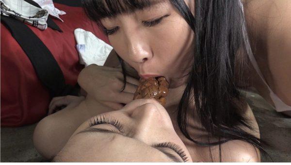 「糞接吻」前多まこ、大塚リクのスカトロ動画
